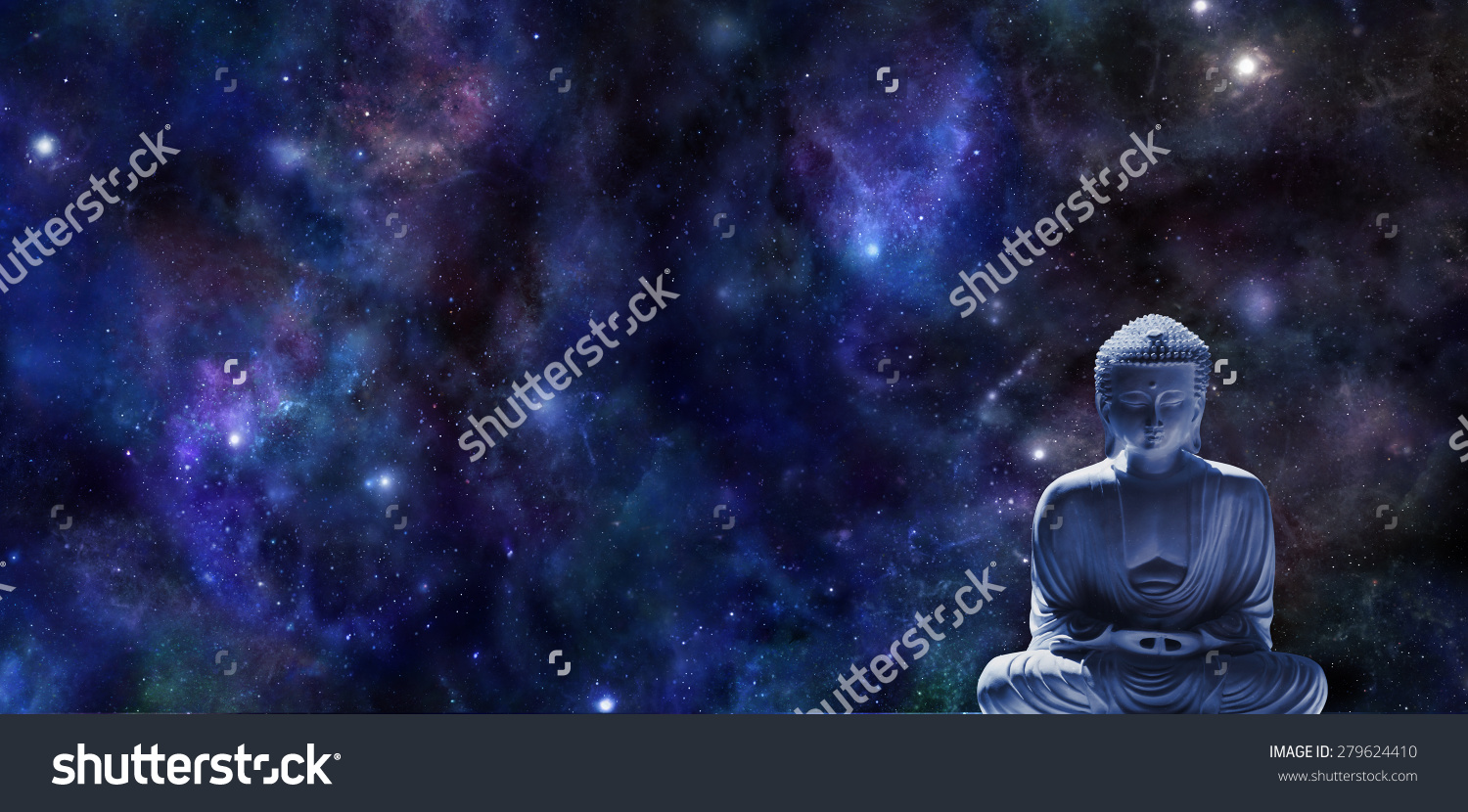 stock-photo-mindfulness-meditation-banner-wide-dark-blue-night-sky-background-with-planets-and-stars-and-a-279624410